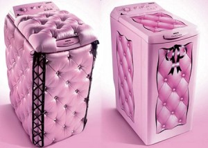lave-linge-rose-girly